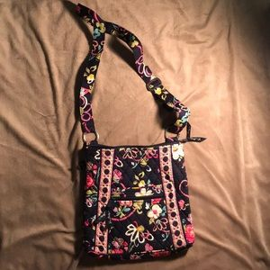 Vera Bradley Iconic Hipster Large Crossbody Bag
